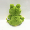 Valentine Green Lovely Plush Stuffed Toy Frog with Heart
