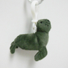 Custom Soft Plush Sea Lion Toy Keychain