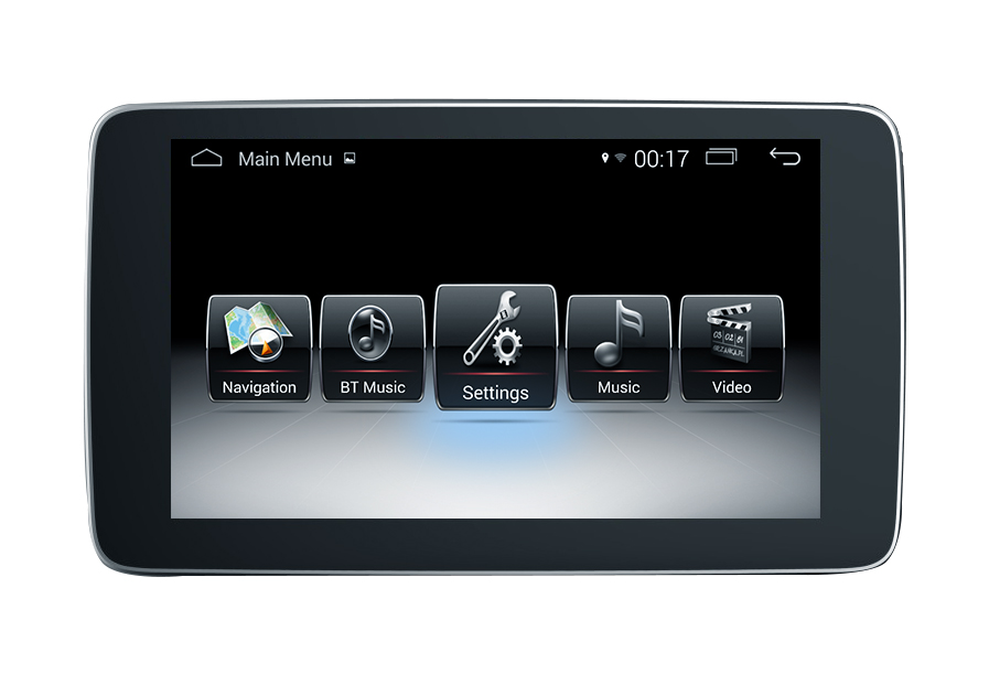 "9""Anti Blue Ray Benz GLC C V (NTG5.0/5.1)android Car Stereos Phone Connections ODB"