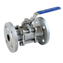 3PC Flange Ball Valve (YZF-V12)
