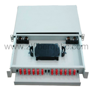 Rack Mount 24fibers FC Optical Fiber Patch Panel
