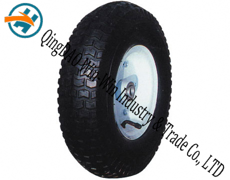 "13""X4.00-6rubberwheel Pr3025 Nylon Wheel"