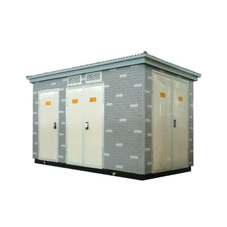 Combined transformer substation