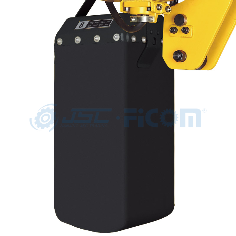 Low Headroom Electric Chain Hoist Model: STD-L (Capacity : 0.5 to 10Ton, Single Speed (without trolley))