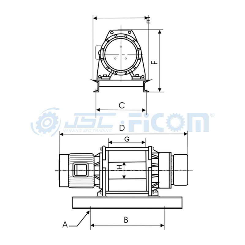 KDJ-2200E1 / KDJ-3200E1 / KDJ-3500E1 Electric Windlass Series