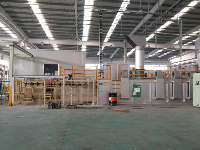chain conveyor type coating line