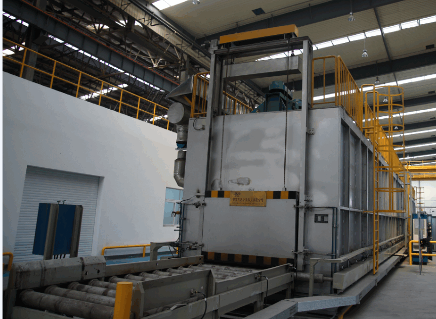 al. casting heat treatment furnace