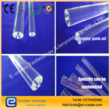 High-purity high-temperature quartz rod for the semiconductor industry