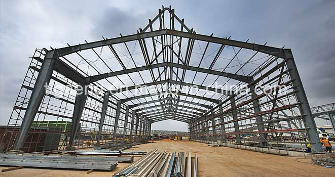Prebuilt Steel Structure Supermarket/Shopping Mall for Chile