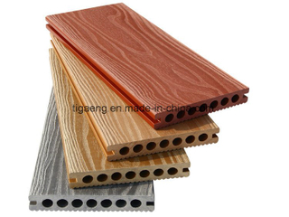 Outdoor Faux Wood Flooring WPC Decking Nice Fit for Balcony
