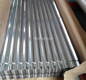 Corrugated Galvalume Metal Roofing Wave Aluzinc Steel Sheet for Roof