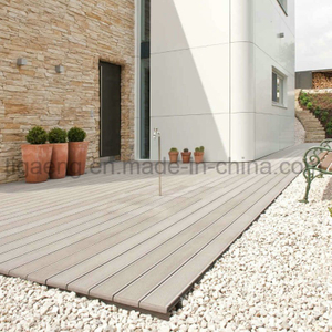 Simple Installation Flame-Retardant Anti-Cracking WPC Outdoor Decking Sheet