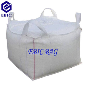 Cross Corner Loop Style Big Bag (FIBC) with tubular body