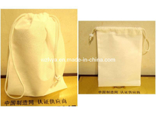 Non Woven Drawstring Bag White Color (LYD14)