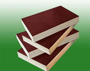 18mm Finger Joint Film Faced Plywood, One Time Hot Pressed Products (FJ006)