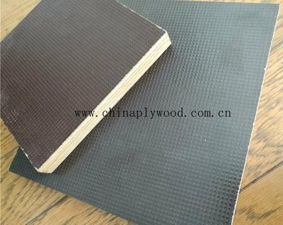 Poplar/Hardwood Core Anti Slip Film Faced Plywood