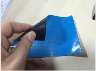 Breathable Fabric Backing PVC Waterproof Membrane
