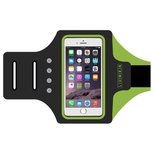 Self Charging LED Running Mobile Sport Armband Free Battery