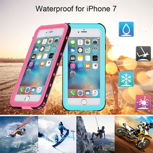 Redpepper Waterproof Phone Hard Case for iPhone 7
