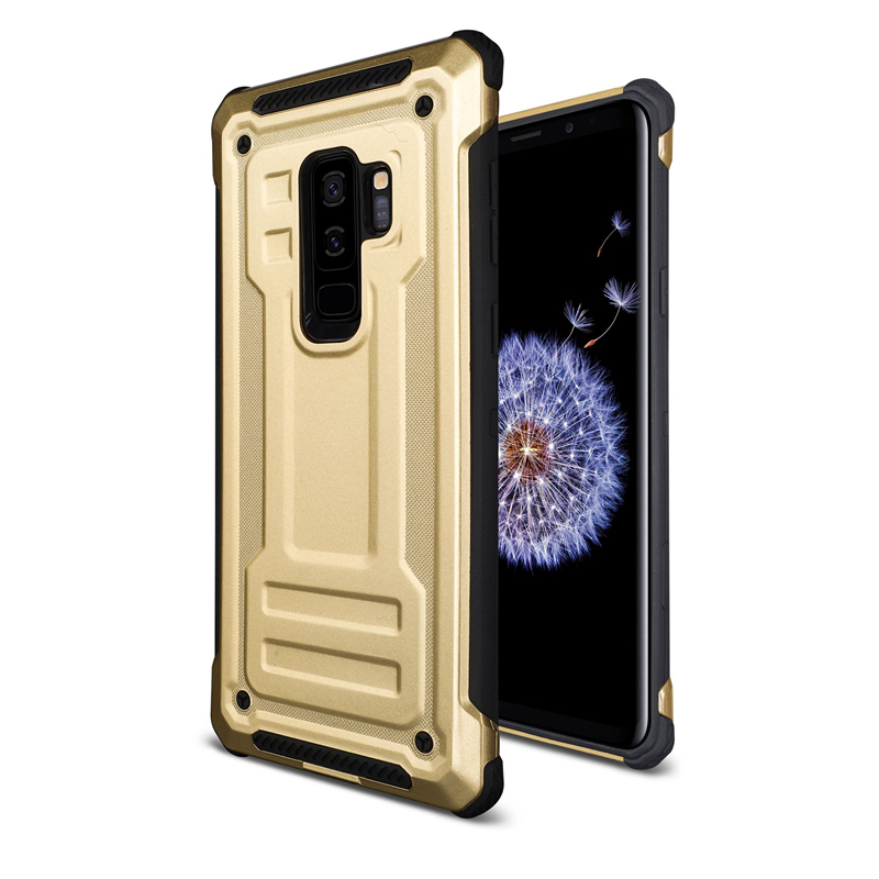 Armor Guard Mobile Phone Case for Samsung 2in1 Protective Shockproof Dirt-resistant Phone Case for Samsung S9