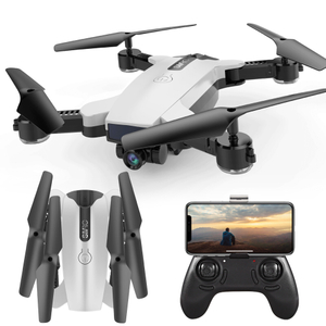 Smrc S6 RC Mini Kids Drone with Camera WiFi Fpv Selfie Drone Auto Follow Me Tracking & Two Lenses Switch