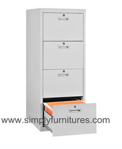 steel home cabinet vertical 4 drawers
