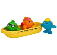 Munchkin ? 满趣健?飞鱼小船洗澡玩具