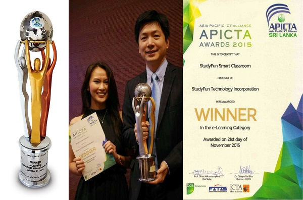 e-Learning Winner of APICTA 2015