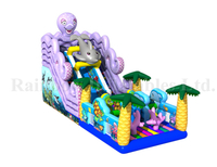 RB06001(9x5x6m) Inflatable High quality colorful UnderSea theme slide
