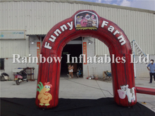 RB21043(9.7x6m)Inflatable Farm Arch for Advertising