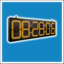 18 Inches Outdoor LED Digit Time & Temperature Clock