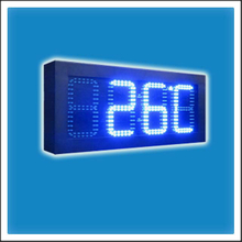 6 Inches Outdoor LED Time & Temperature Display Board