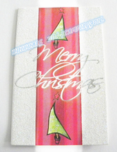 Hot stamping foil for Christmas Card