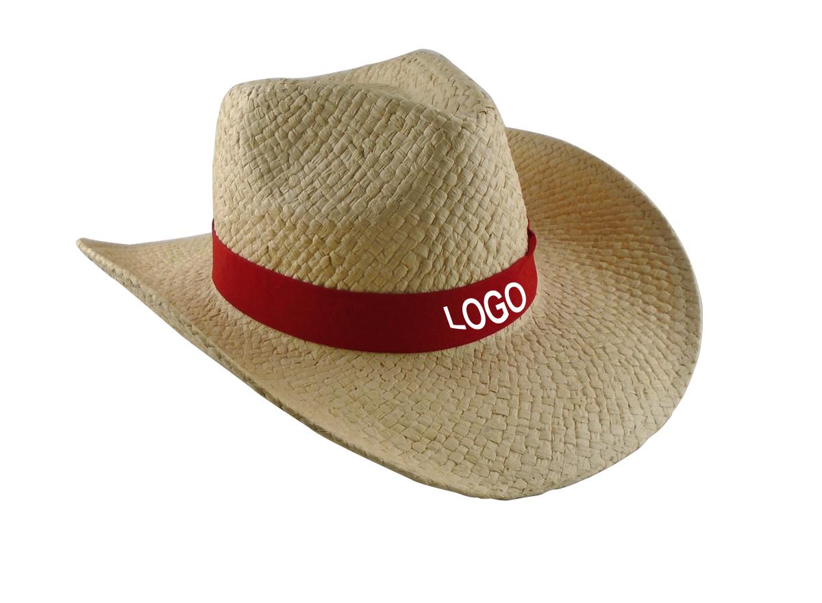 Custom Logo Promotional Straw Cowboy Hat Buy Custom