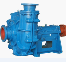 ZJ electric solid slurry stainless steel horizontal single stage centrifugal pump