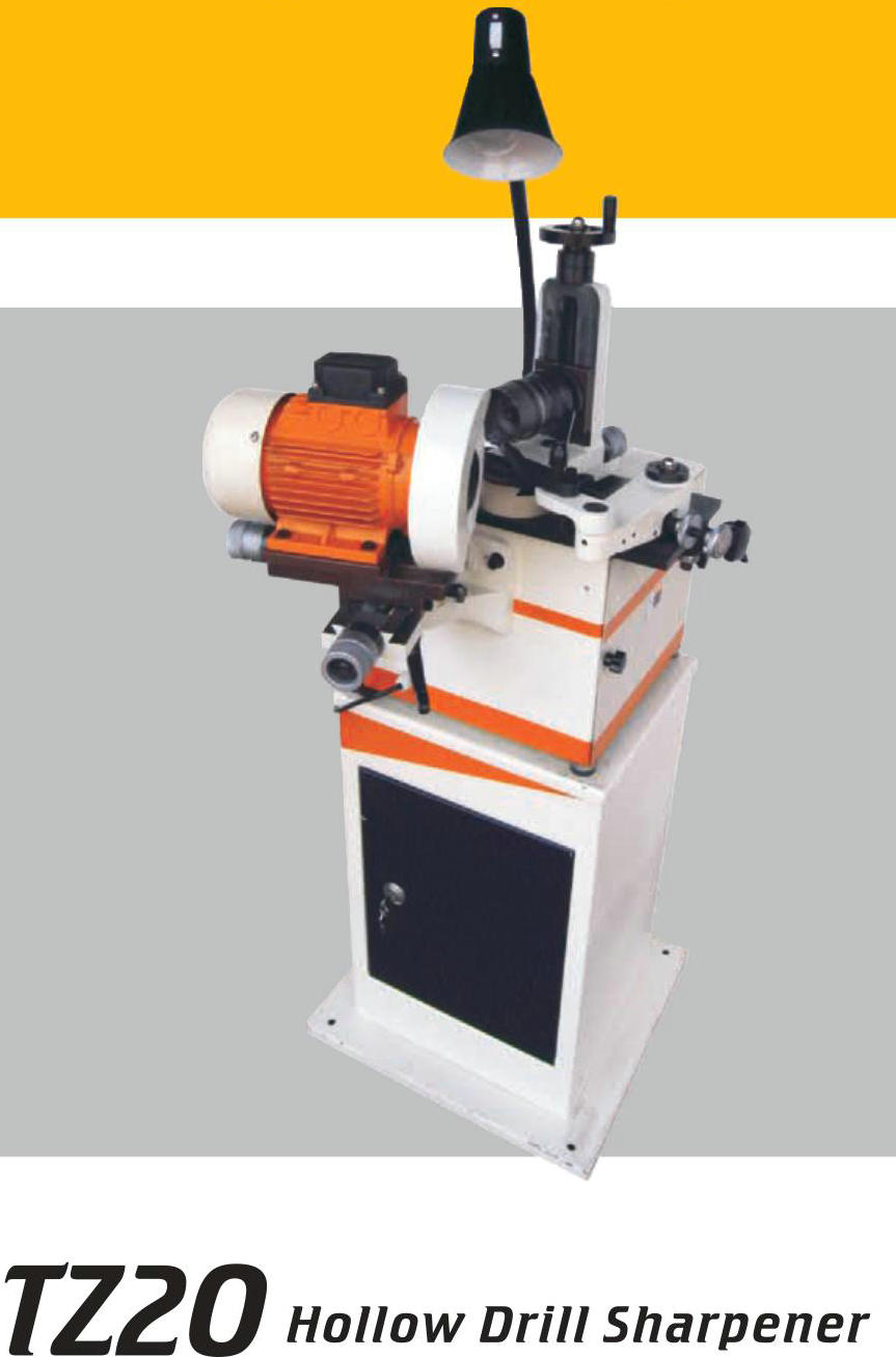 HOLLOW DRILL SHARPENER TZ20
