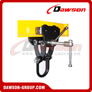 DS-TCSP Tipo Push Trolley Clamp con grillete