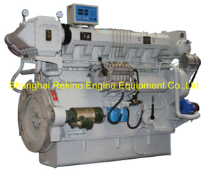 200HP-490HP Zichai medium speed marine diesel engine (Z6150ZLC)