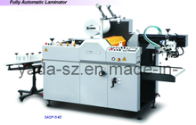 Fully Automatic Oil Heating Thermal Film Laminator SADF-540