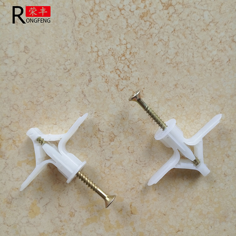 Expansion Gypsum Board Anchor With Plastic Toggle Wings, Masonry
