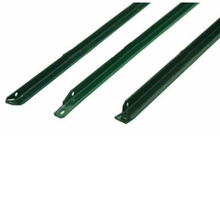 Green Painted Steel L Shape Fence Post