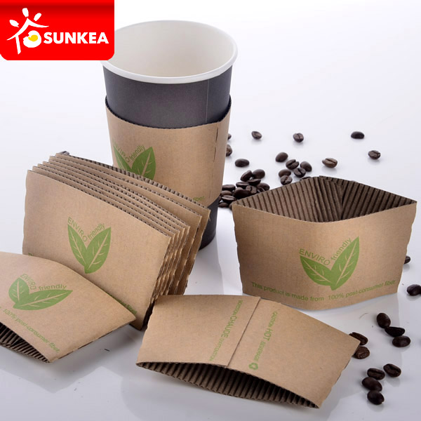 Custom paper cup sleeves