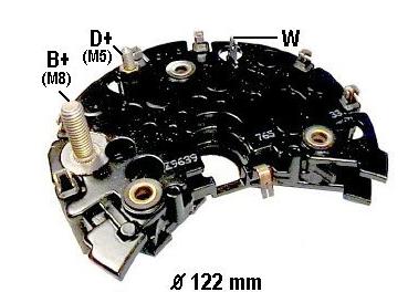 首页 产品展示 汽车发电机整流器 博士系列 hbr824整流器  产品类别