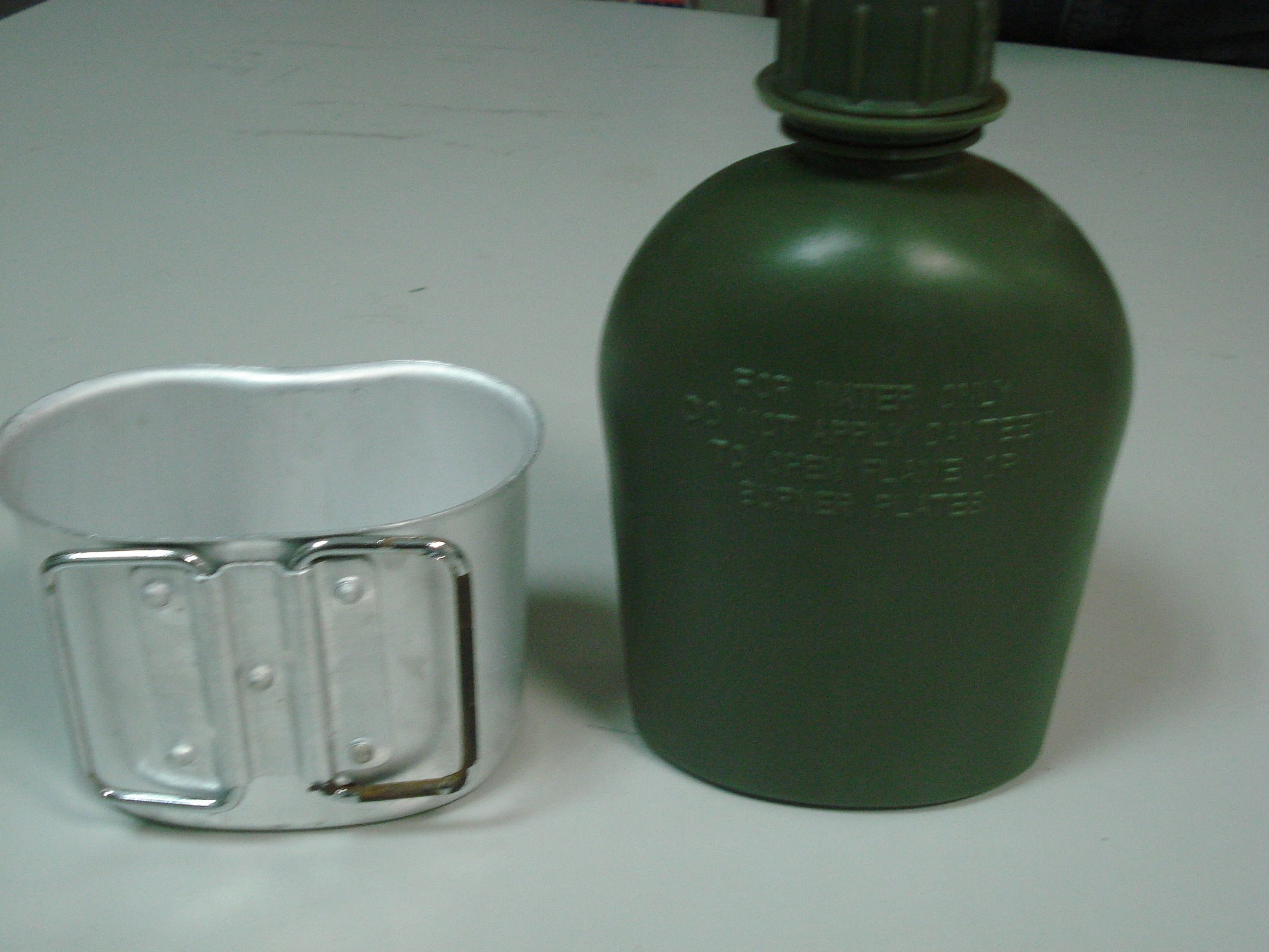 Military Us Water Bottle with High Quality HDPE