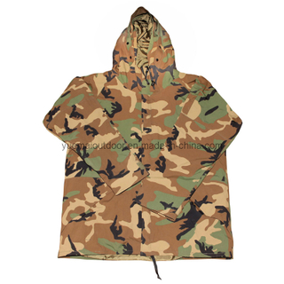 Military Woodland Camo Cold Weather Parka