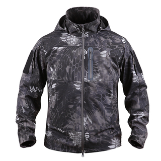 Army Waterproof and Breathable Softshell Jacket in Atacs