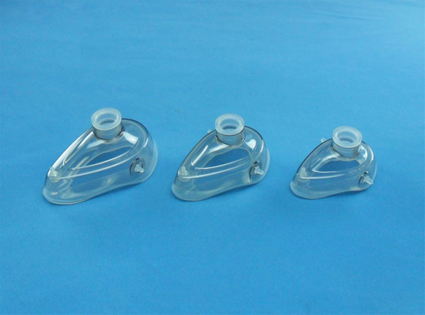 Two-pieces silicon mask