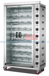 HGJ-9PA (9-Rod) Rotisserie Chicken electric Oven/Chicken Rotisserie for Sale/Rotisserie