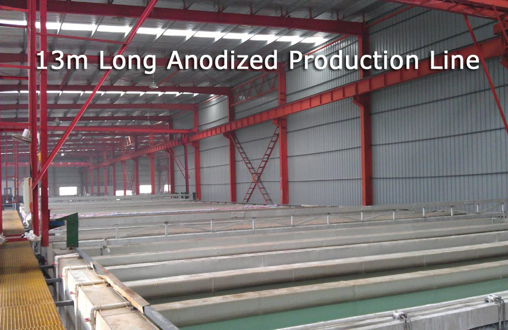 SSR -Anodizing Working Line