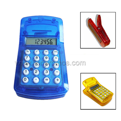 8digits Mini Clip Calculator